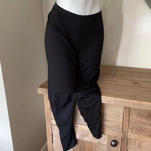 Eileen Fisher pull on lounge pants XL black